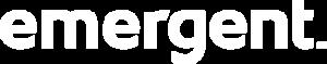 Emergent Logo White
